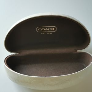 Coach hard shell sunglass case